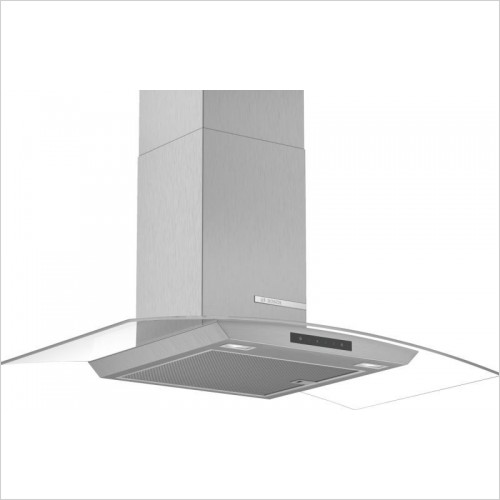Bosch Built in - Serie 2 60cm Wide Straight Canopy Cooker Hood