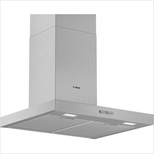 Bosch Built in - Serie 4 60cm wide Straight Glass Canopy Cooker Hood