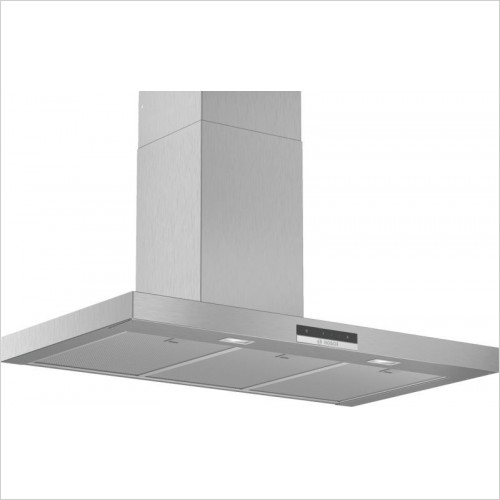 Serie 4 80cm Angled Wall Hood, LED Lights