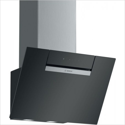 Serie 2 75cm wide Slim Pyramid Design Cooker Hood