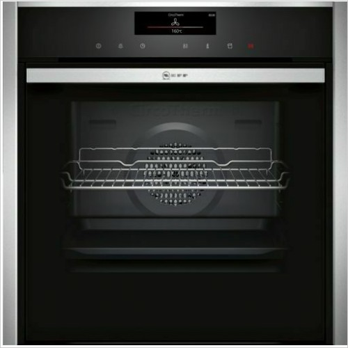 Neff - N90 Slide & Hide Single Oven With CircoTherm