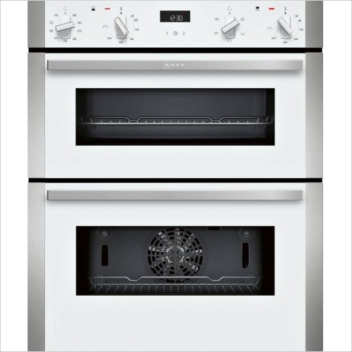 Neff - N50 Built-Under Double Oven CircoTherm Main Oven