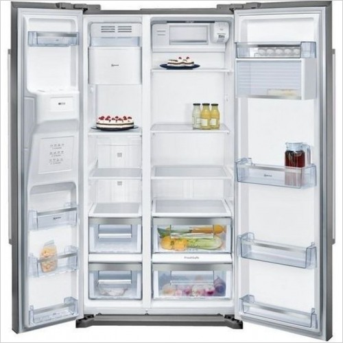 Neff - N50 176 x 91cm USA Style SBS Fridge Freezer