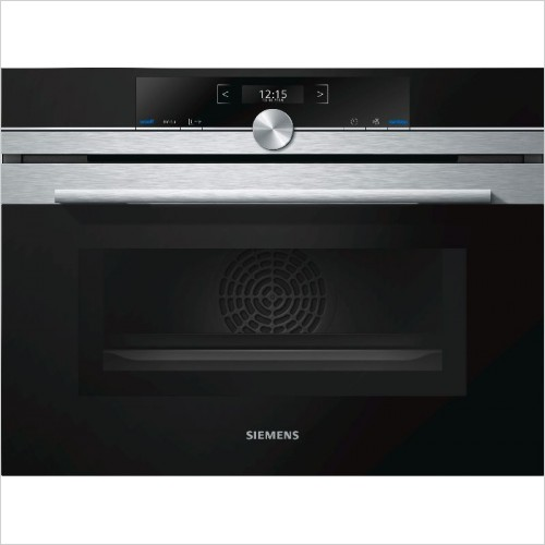 Siemens - iQ700 Compact45 Multifunction Oven With Microwave