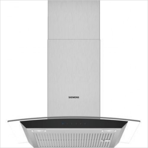 Siemens - iQ300 Curved Glass Chimney Hoods 60cm