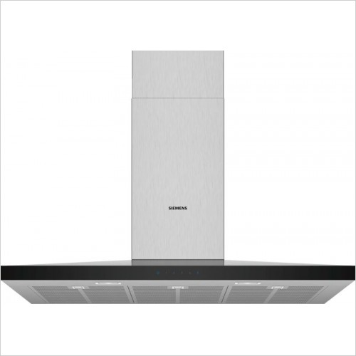 Siemens - iQ300 Pyramid Chimney Hoods 90cm Wide