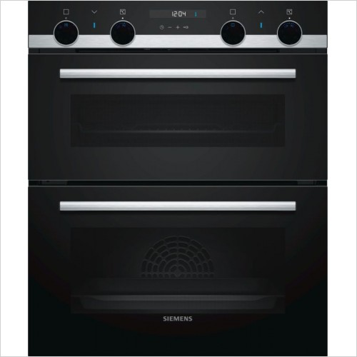 Siemens - iQ500 Built-Under Double Ovens Main Oven